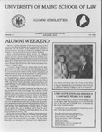 Alumni Newsletter - Issue No. 17 by University of Maine School of Law