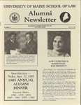 Alumni Newsletter - Issue No. 21 by University of Maine School of Law