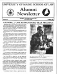 Alumni Newsletter - Issue No. 25 by University of Maine School of Law