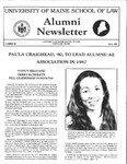 Alumni Newsletter - Issue No. 26 by University of Maine School of Law