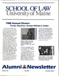 Alumni Newsletter - Issue No. 32 by University of Maine School of Law