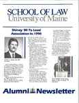 Alumni Newsletter - Issue No. 35 by University of Maine School of Law