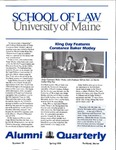 Alumni Quarterly - Issue No. 39 by University of Maine School of Law