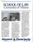 Alumni Quarterly - Issue No. 40 by University of Maine School of Law