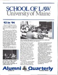 Alumni Quarterly - Issue No. 41 by University of Maine School of Law