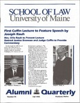 Alumni Quarterly - Issue No. 45 by University of Maine School of Law