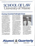 Alumni Quarterly - Issue No. 50 by University of Maine School of Law