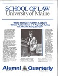 Alumni Quarterly - Issue No. 54 by University of Maine School of Law