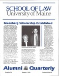 Alumni Quarterly - Issue No. 56 by University of Maine School of Law