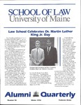 Alumni Quarterly - Issue No. 58 by University of Maine School of Law