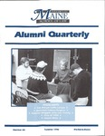 Alumni Quarterly - Issue No. 60 by University of Maine School of Law