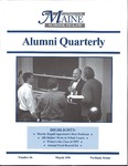 Alumni Quarterly - Issue No. 66 by University of Maine School of Law