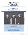 A Report to Alumni & Friends - Issue No. 67 by University of Maine School of Law