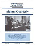 Alumni Quarterly - Issue No. 68 by University of Maine School of Law