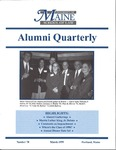 Alumni Quarterly - Issue No. 70 by University of Maine School of Law