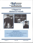 A Report to Alumni & Friends - Issue No. 71 by University of Maine School of Law