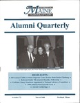 Alumni Quarterly - Issue No. 73 by University of Maine School of Law