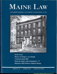 Maine Law Magazine - Issue No. 78 by University of Maine School of Law