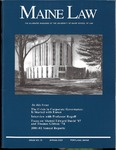 Maine Law Magazine - Issue No. 79 by University of Maine School of Law