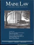 Maine Law Magazine - Issue No. 79