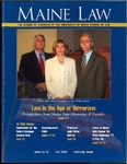 Maine Law Magazine - Issue No. 81 by University of Maine School of Law
